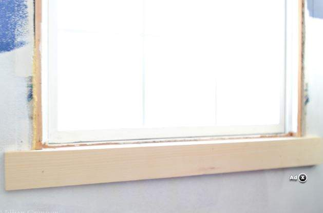 diy sill support