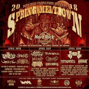 Spring Meltdown Festival  – 2018