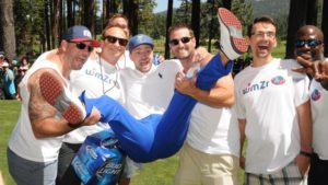 Lots of fun with Justin Timberlake at American Century Celebrity Golf Tournament at Edgewood, Tahoe