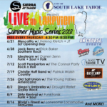 Concert lineup for Lakeview Commons Free Summer concert series