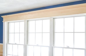 Easy DIY Farmhouse Window Trim Project