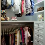 Little girls' closet design