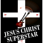 Poster for a play of Jesus Christ Superstar at the Duke Theater at Lake Tahoe Community College