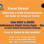 Safe trick or treating event at the LTCC