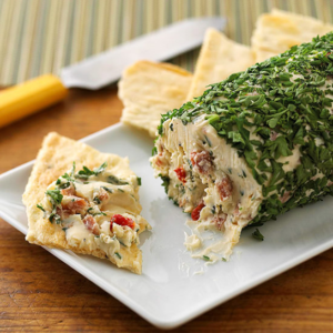 Peppered Herb Cheese Log