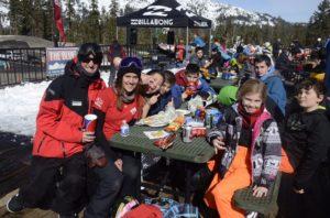 Blue Angels Ski and Snowboard Camp at Sierra Ski Ranch