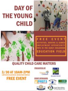 Event poster - Day of the Young Child