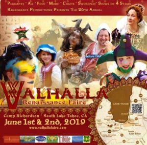 Valhalla Renaissance Faire poster