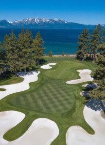 Beautiful Tahoe's Edgewood Golf Course 16th Hole