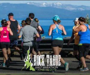 Rock Tahoe half marathon 6.15.19