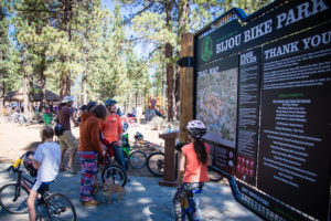 Bijou Bike Track in beautiful Tahoe