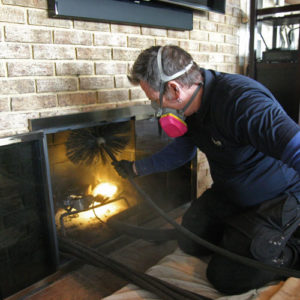 chimney sweep this fall for safety