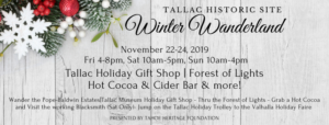 Winter Wanderland event at Tallac & Valhalla