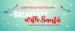Breakfast with Santa at the Lake Tahoe Golf Course