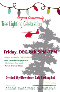 Meyers Tree Lighting Flyer