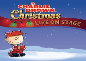 Charlie Brown Christmas live on stage at Montblue