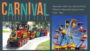 Winter holidays Carnival in Heavenly Village