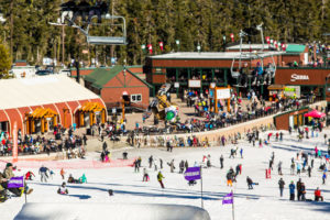 USASA SLopestyle Competition at Sierra Ski Resort