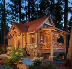 pretty little cabin